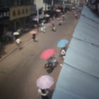 009, ANHUI, CHINA, Photographic Still of Live Streaming Webcam