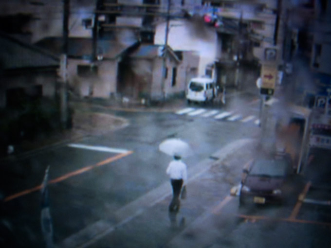 """Mass Surveillance Series"", Web Cam Still, OSAKA, JAPAN, 2011"